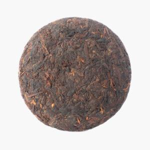 goutte de thé 653p-1, puer cuit galette