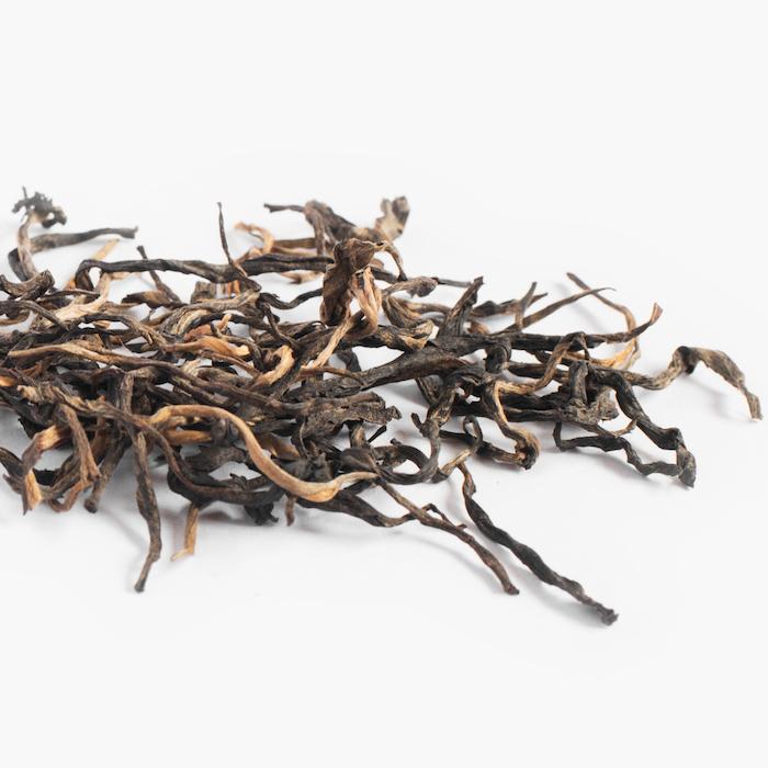 thé noir ; goutte du thé detail 502-2