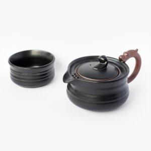 théière porcelaine voyage;goutte de thé 708-1