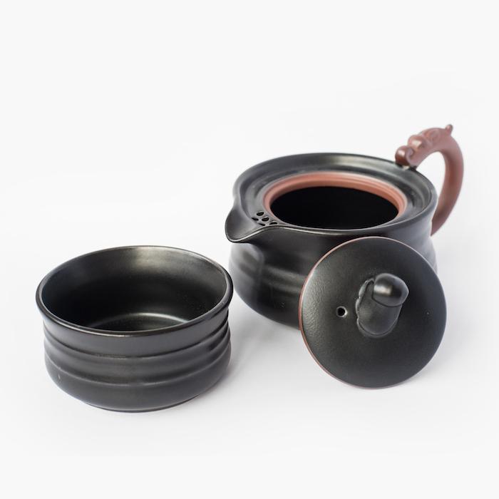 théière porcelaine voyage; goutte de thé 708-2