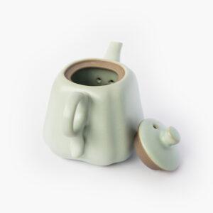 théière porcelaine; goutte de thé 709-1