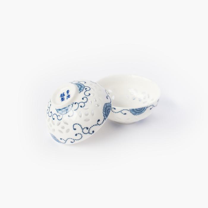 tasse de thé porcelaine; goutte de thé 730-2