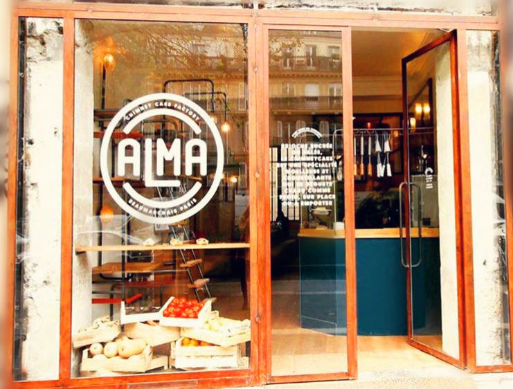 Alma the Chimney Cake Factory