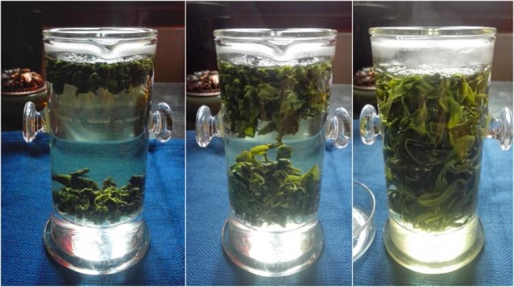 Infusion thé diamant vert